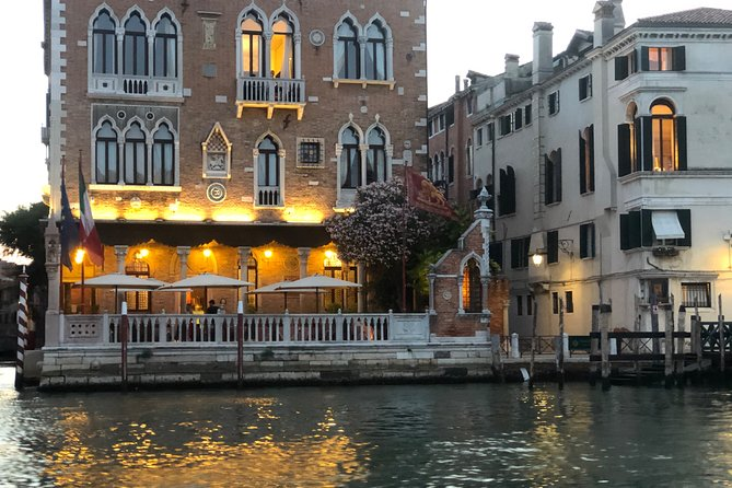 Venice touched with the eyes