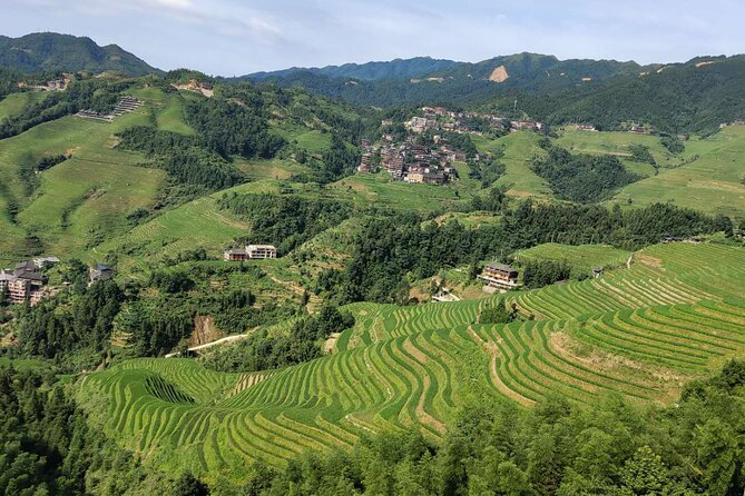 2-Day Private Tour: Longji Rice Terraces and Sanjiang with the hotel