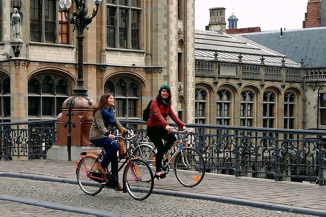 Small-Group Food Tour in Ghent by Bike