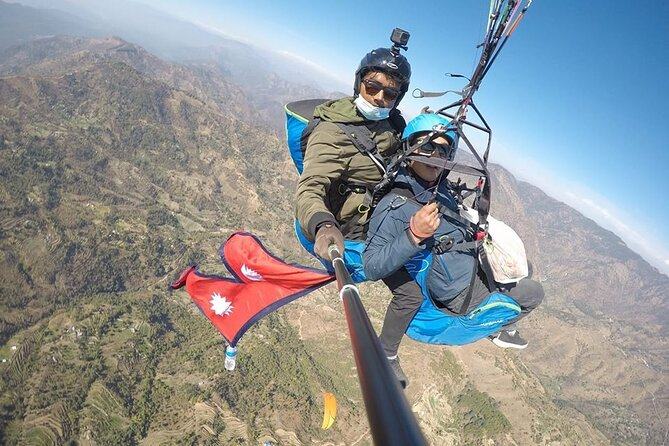 Private Paragliding Cross Country Flight in Nepal
