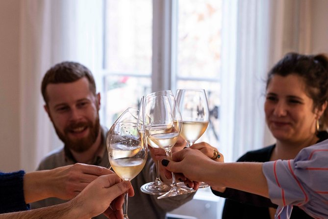 Spanish wine tasting in a historic building with a Sommelier