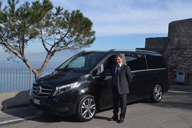 Private Tour: Amalfi Coast from Sorrento with Mercedes Minivan