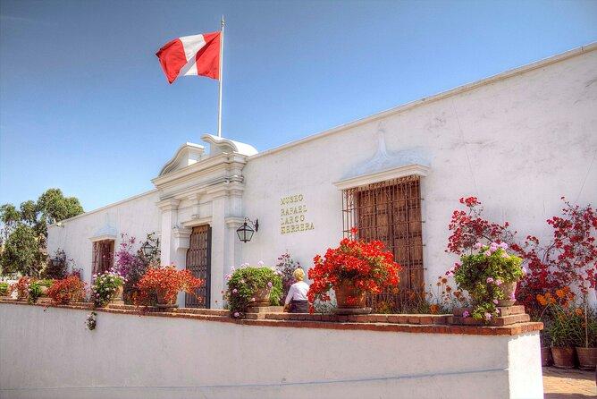 Half-Day Private Tour to Casa Aliaga, San Francisco Convent and Larco Museum