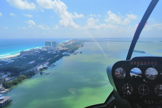 Live the adventure of helicopter ride, admire the caribbean sea from the sky