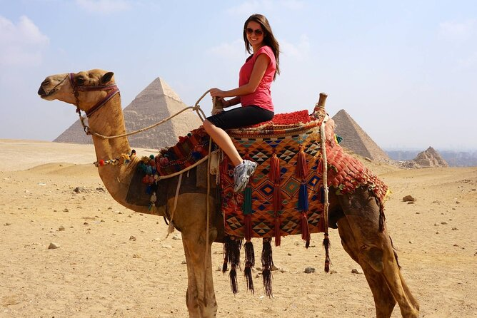 Fabulous guided Day Tour To Cairo from Sharm El Sheikh by plane.special day