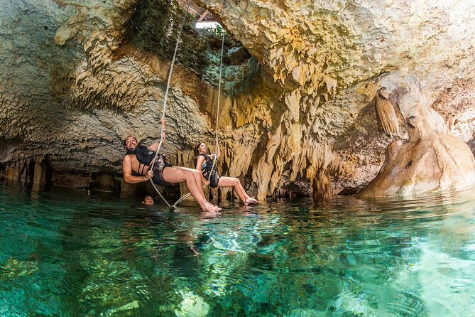 Jungle Maya Native Park with ziplines and cenote snorkel - Admission ticket only