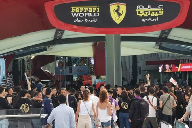 Private Abu Dhabi City Tour With Ferrari World Tickets