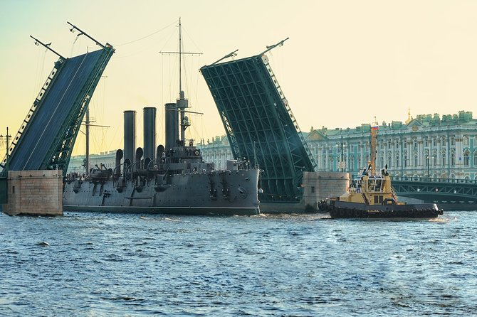 Private Tour at St. Petersburg City and a visit to Cruiser Avrora