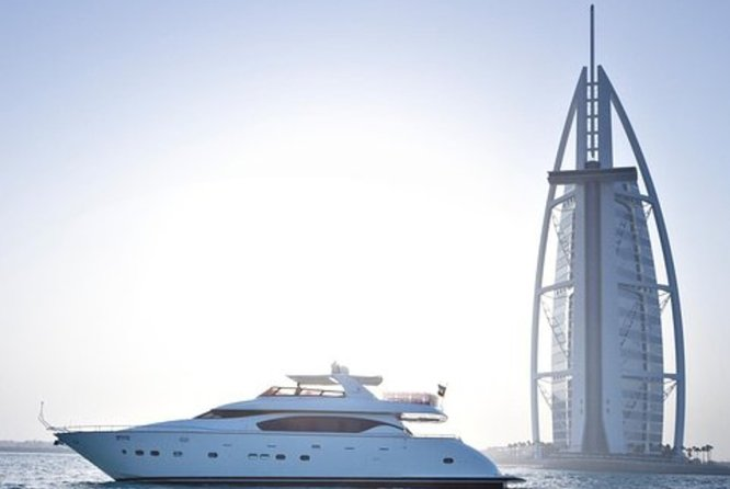 Enjoy Private Dubai Marina Luxury Yacht Tour with BF or BBQ