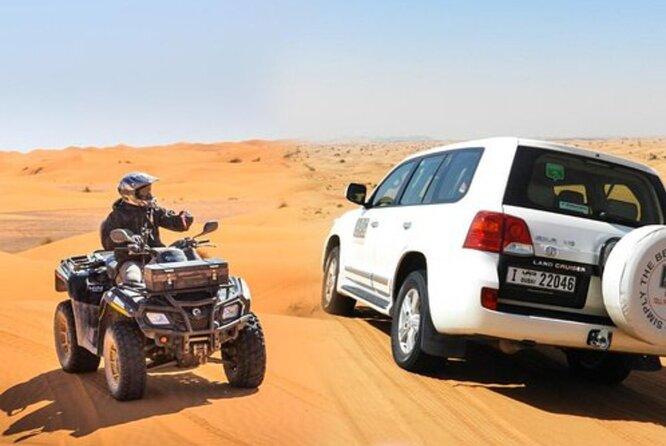 Amazinh Desert 4x4 safari , Complimentary Atv Ride , Camel Ride , BBQ Dinner