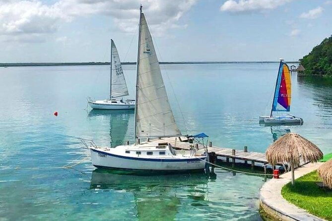 Bacalar sailing day tour from Playa del Carmen