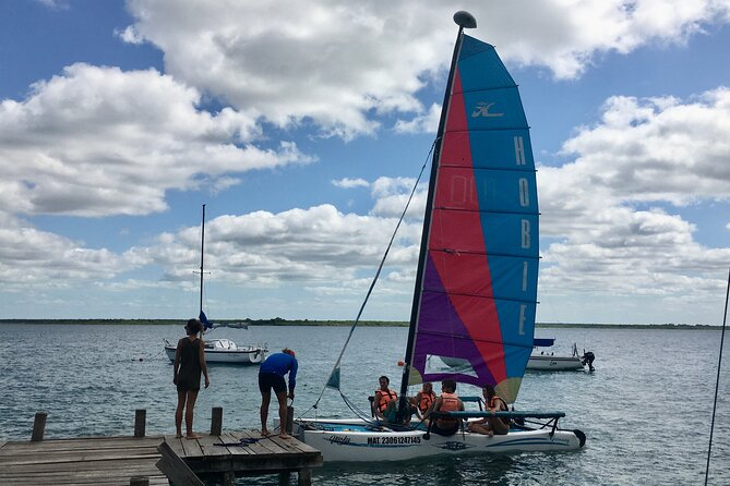 Bacalar sailing day tour from Akumal