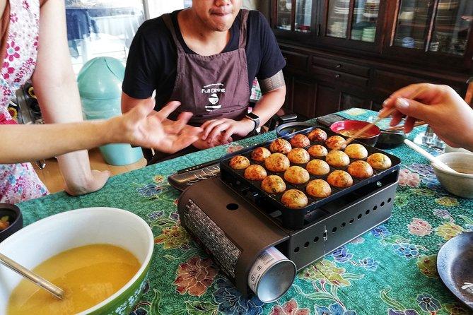 Homely Style Osaka Takoyaki Cooking