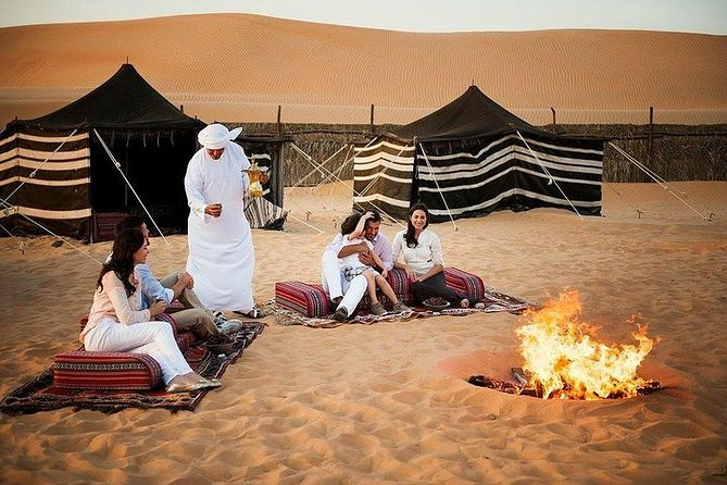 Dubai Desert Safari with Quad Biking & Dune Bashing BBQ dinner and Camel ride