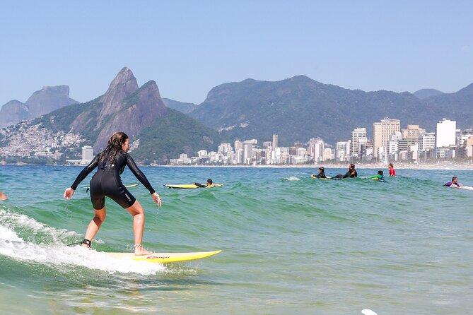 Private Surf Lesson in Arpoador