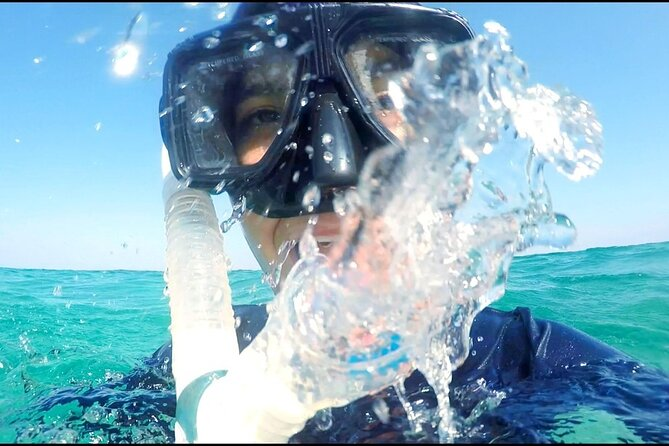 Snorkel with beach stop on Pirate Ship Cozumel