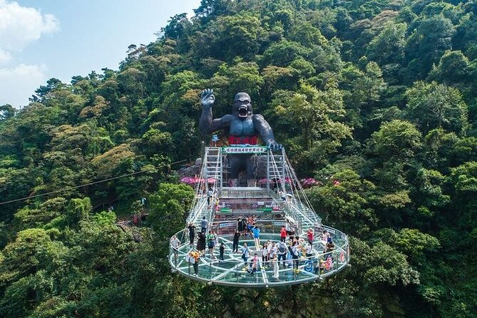 Guangzhou Private Day Tour to Gulong Gorge Glass Bridge