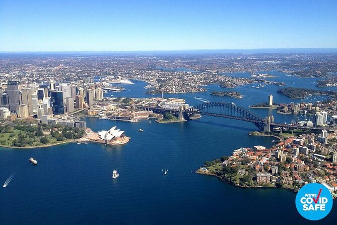 Private Helicopter Flight Over Sydney and Beaches for 3 - 20 Minutes