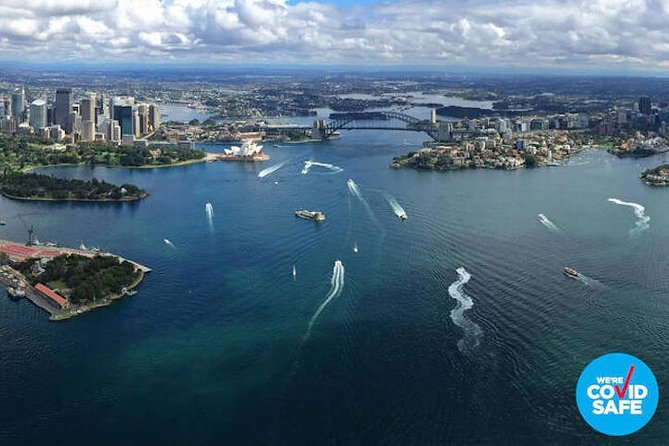Private Helicopter Flight Over Sydney & Beaches for 2 or 3 people - 30 Minutes