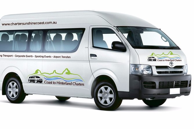 Brisbane Airport to Sunshine Coast Private Transfer - 13 Seat Minibus