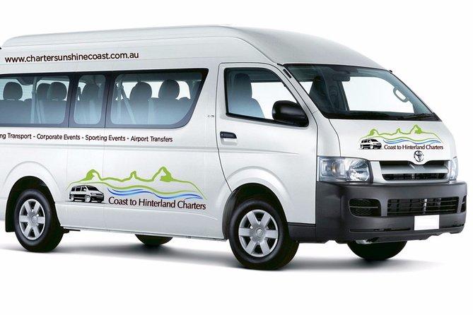Sunshine Coast Airport Private Transfer 11 Seat Minibus Meet and Greet Service