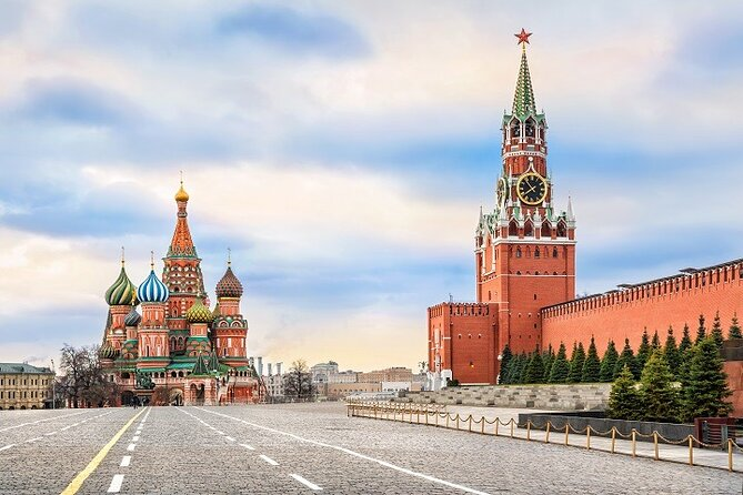 Half-Day Private Walking Tour in Moscow with a Guide