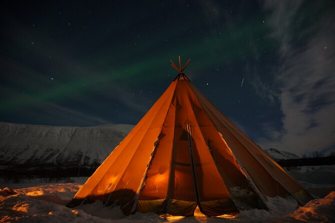 Reindeer feeding & Saami Culture with chance for Northern Lights