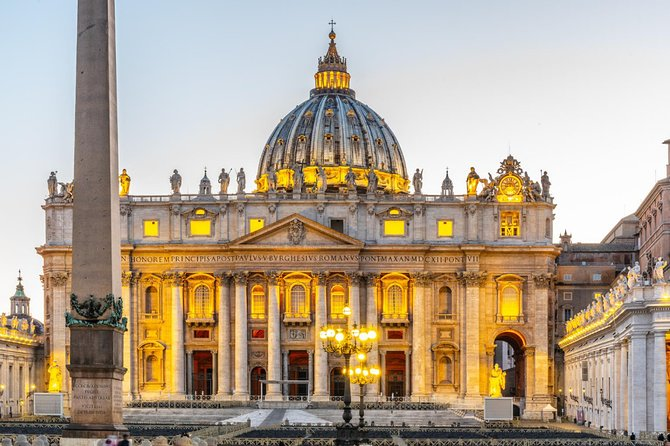 Vatican, Sistine Chapel and St. Peter's Basilica Tour