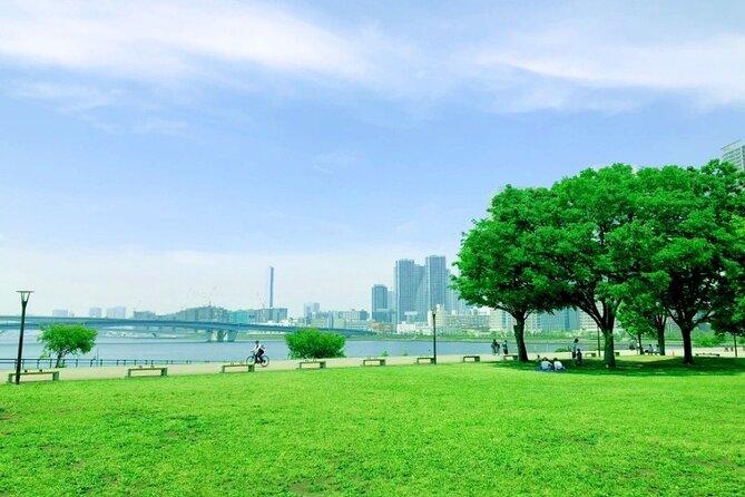 Toyosu Gururi Park Waking (Private Tour)