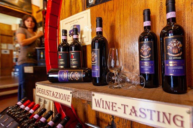 Montalcino Brunello Wine Tasting