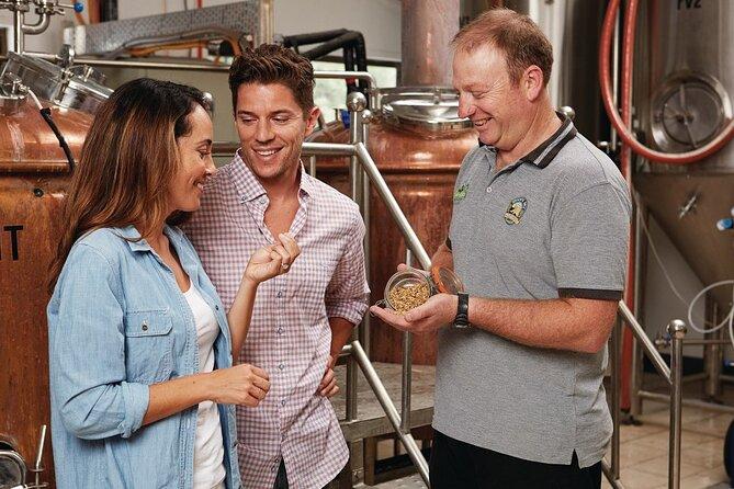 Half-Day Noosa Brewery Experience Inc. Lunch - Sunshine Coast (Min 5 Adults)