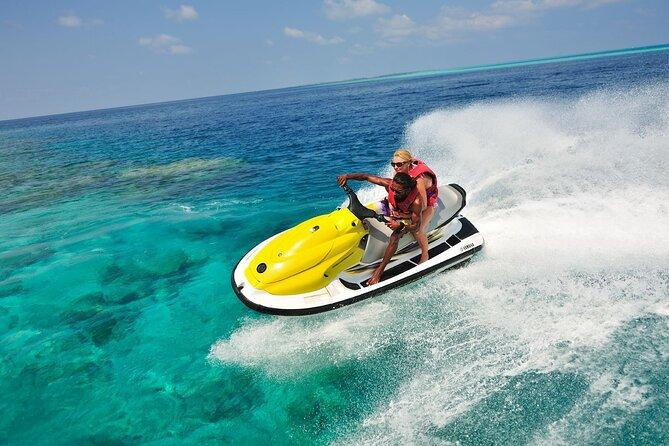Zanzibar Jet-ski Snorkeling over Mnemba Island: Departure from Jambiani Zanzibar