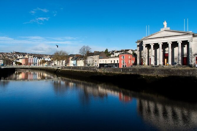 Hop-on-Hop-off sightseeing bus tour of Cork City. Guided. Full day.