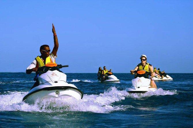 Zanzibar Classic Jet-ski Safaris: Departure from Kiwengwa Zanzibar