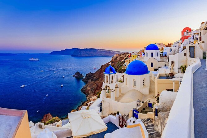This is a Private Overview of Santorini