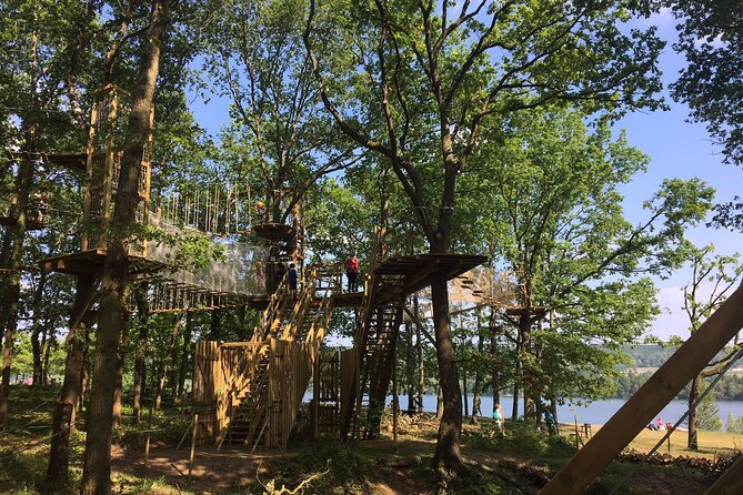 Tree Top Adventure in Moisson