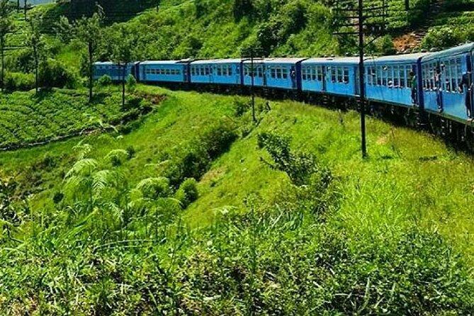 "Badulla to Kandy train ride on (Train No: 1006 ""Podi Menike"")"