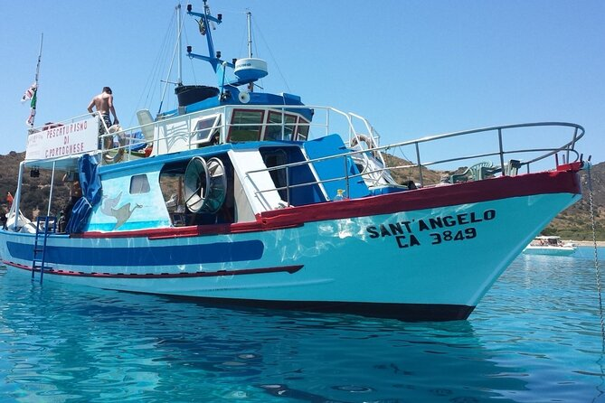 Full-Day Private Boat Excursion to Villasimius with Lunch