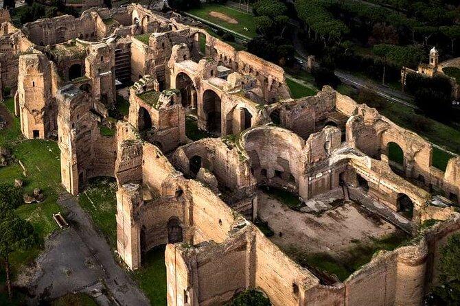 Baths of Caracalla ticket + virtual reality