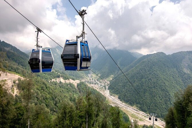 Cable car ride - Nohur lake & Gozel Waterfall - Private guided