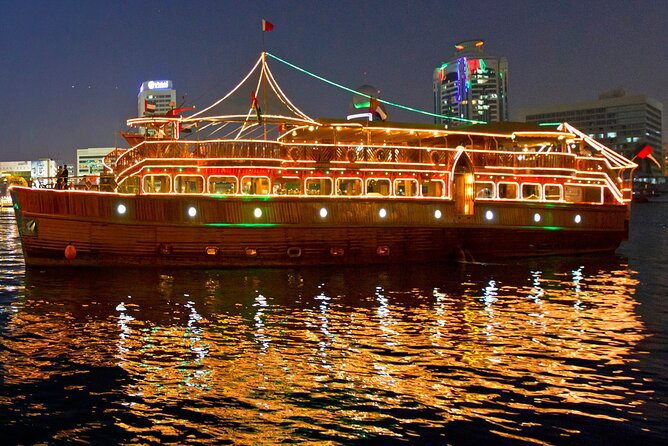 Combo Tours Enjoy Full Day Abu Dhabi City Tour - Louvre and Night Dhow Cruise