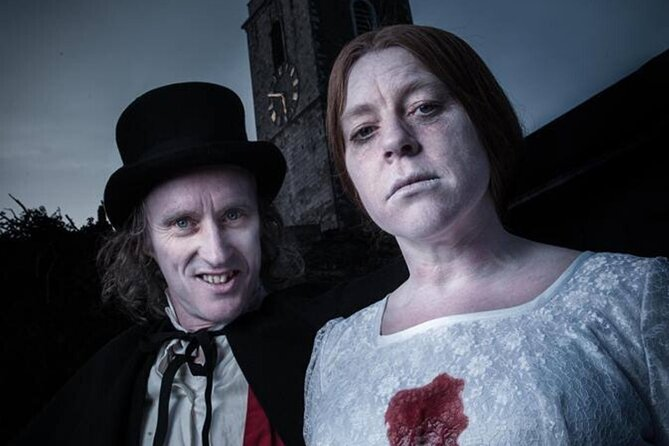 Spooky Ghost Tour of Cork City. Guided. 1 hour.