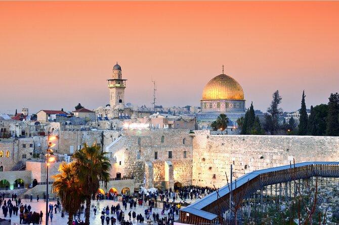 Jerusalem and Bethlehem Private Trip from Jerusalem or Tel Aviv