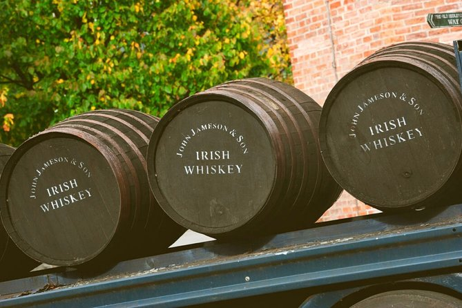 The Jameson whiskey experience from Cork city. Guided. Half day.