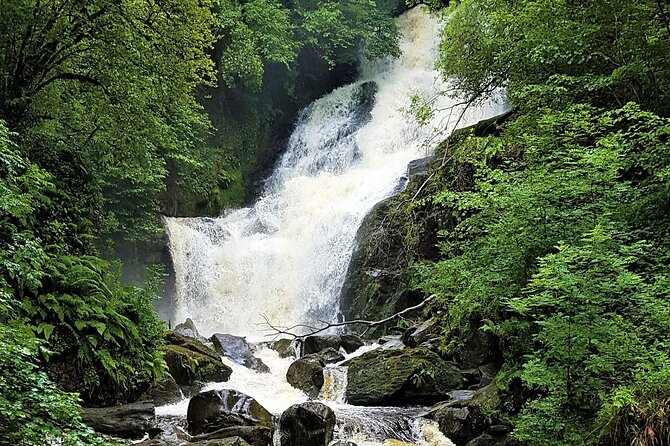 Torc mountain & waterfall hike. Killarney. Private guided. 3½ hours.