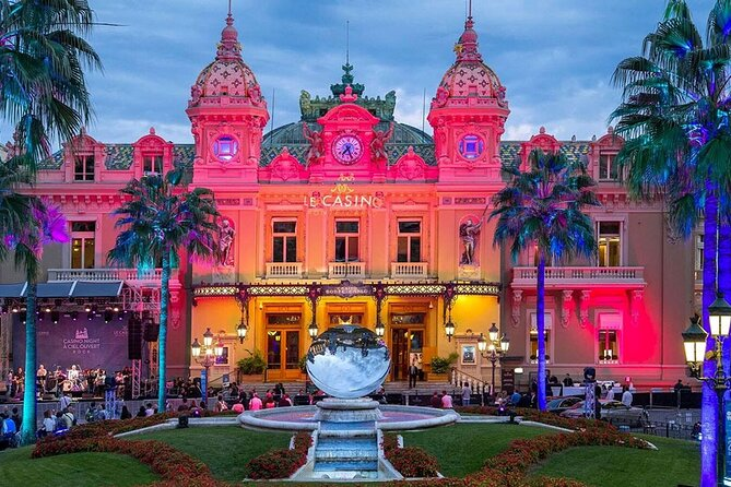 GUIDED TOUR: Monaco by night (Villefranche and Monaco)