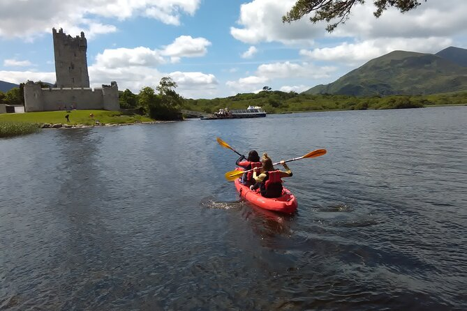 Kayak the Killarney lakes from Ross castle. Killarney. Guided. 2 hours.
