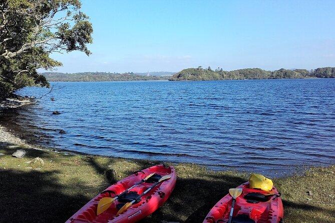 Kayak to Innisfallen island. Killarney. Guided. 3 hours.