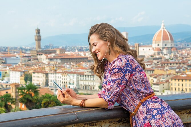 Florence: GROM Gelato Experience and Self-Guided Tour