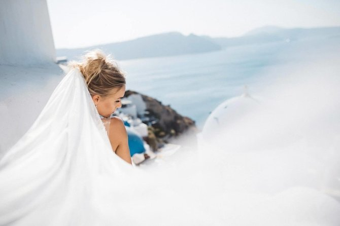Ruby Santorini Wedding Package